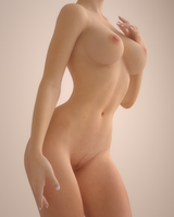 Nude Study 01 by SnowMach