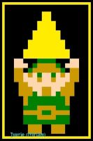 8 Bit Link by iverie