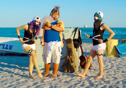 The Kahuna's Chill with Team Skull by ZippyJ