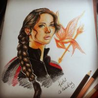 Katniss by kantist