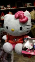 Hello Kitty 49ners Fan by Mileymouse101