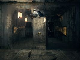 Mirrors door by AndreyBobir