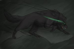 Fenrir by ButterflyDragon99