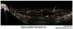 Newcastle panorama personal by N1ghtf4ll3r