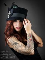 Top hat Brittany by ByteStudio