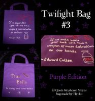 Bag Team Bella .purple. by Hyo-pon
