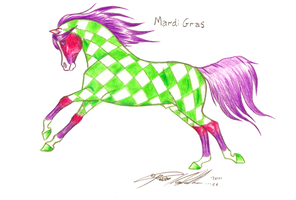 Mardi gras by Carousel-Stables