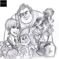 Wreck-it-Ralph by MarioOscarGabriele