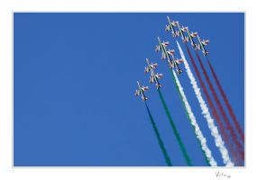 Frecce Tricolore II by ValloDan