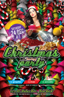 Christmas Party Flyer Template Vol_2 by koza30
