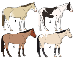 (Open) Horse Adopts by PyralDesign