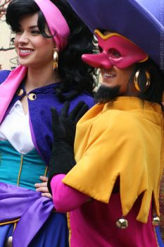 Clopin and Esmeralda by DisneyLizzi