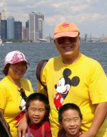 big smile with the big apple behind by nikischlicki