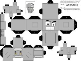 Cubee - Crazy Robot by CyberDrone