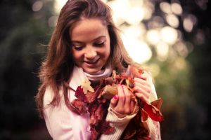 Autumn Smiles by thesashabell