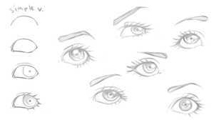 Eye Reference and Tutorial by ophi-love