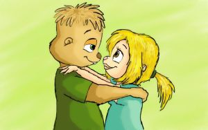 Theo and Ellie by BoredStupid100
