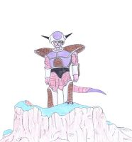 Frieza First Form by BlinVarfi