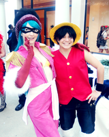 Luffy and Porche by Spilled-Sunlight