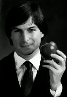 Steve Jobs by Kerayra