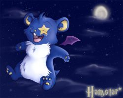 The winged rodent of the night by VioletVampireVixen