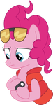 Back to the future pinkie pie by Gebros