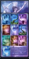 Sky Magic backgrounds Plus Tutorial by moonchild-ljilja