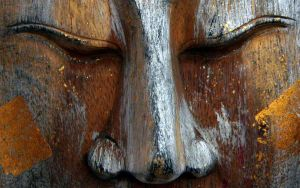 Wooden Buddah 02 by RoyalScanners