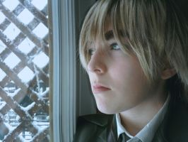 APH - Looking Out At The Snow by Cherushi-chan