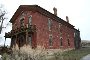 Bannack Ghost Town 83 by Falln-Stock