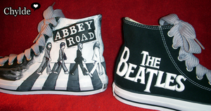 Abbey Road Chucks by Chylde