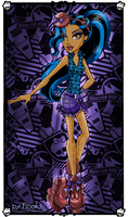 Monster high: Robecca Steam/Dance class by Flooks