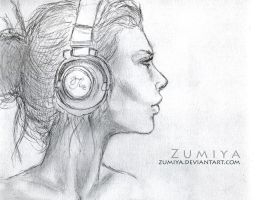 Headphones by Zumiya