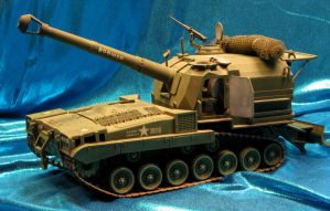 Classic 8-inch Howitzer by godzillabadger