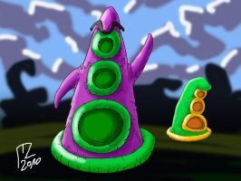 Day of the Tentacle by blue-hugo
