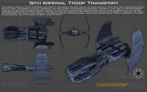 Sith Imperial Troop Transport ortho [2][New] by unusualsuspex