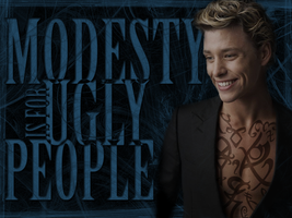 Jace - Modesty Wallpaper by ReachForTheStarfish