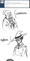 Ask Hogwarts: Who? by CheleKat