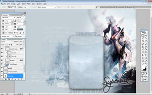 Subeta: User Profile - Lineage 2 Kamael - WIP by Luxuriah