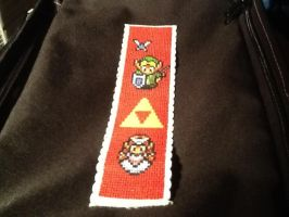 Zelda Bookmark by AnarawynDesigns