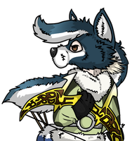 Bravely Default- Ranger (wajas tag thing) by EquinoxChimu