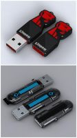 Kingston USB Design Contest by automatte