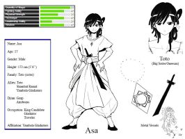 Magi OC: Asa by OrIgInal-ArtIst
