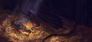Gold keeper by Powl96