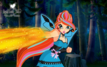 1.Bloom Lady HalloWinx by SparxGuardian