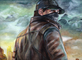 Aiden Pearce by hyalokinesis