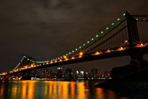 Manhattan Bridge by wmandra