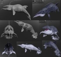 Dragonwhale 3D by AltairSky