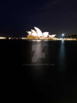 Night Sydney Opera House II by ColdBundie