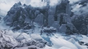 Skyrim Wallpaper 3 - The Land of the Snow Prince by kanttii